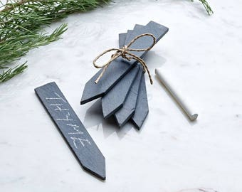 Slate Garden Markers - Pack of 5