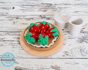 Pattern - Strawbeeries - EN