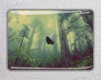 Forest macbook skin nature macbook decal landscape macbook sticker rain forest macbook cover apple macbook pro skin macbook air FSM271