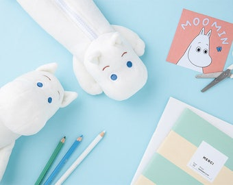 MOOMIN pencil case / Pencil pouch / 2type [lying, Standing] / 01-a