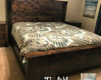 The Wilson Solid Alder Headboard and Foot board Set (The Wilson)