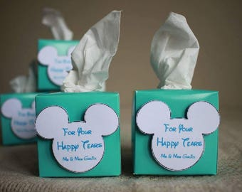 3D Disney themed wedding favours