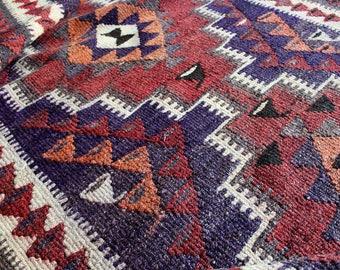 Makali - Thick Vintage Persian Kilim