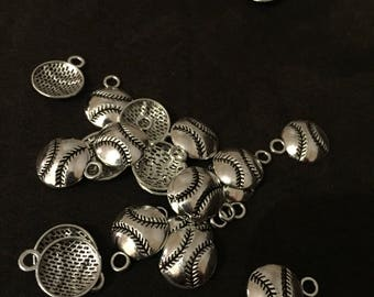 Baseball/softball Charm necklaces