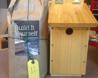 Bird House Kit You Build Yourself
