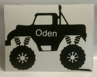 Personalized truck decal,HTV,iron on decal, transfers,
