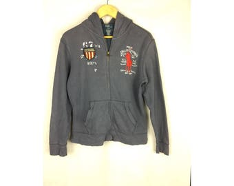 POLO by RALPH LAUREN Long Sleeve Hoodies Large Size Kids Size 14-16 Years Old With Big Embroidery Logo