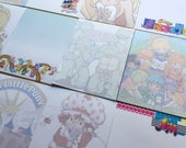 NOTEPAD (Select Cartoon) 1980s She-Ra, Popples, Care Bears, Rainbow Brite, Strawberry Shortcake, Jem, TMNT, My Little Pony, Wuzzles