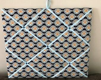 Retro Campervan Fabric Memo Board