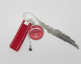 Bookmark personalized gift for a nurse who tear