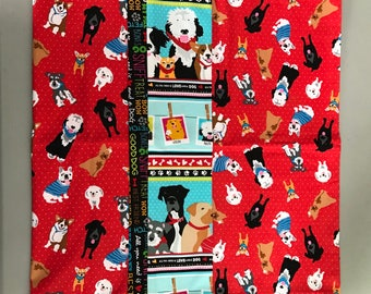 Red Dog pillow case