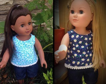 Summertime!   Casual outfit for the 18 inch doll