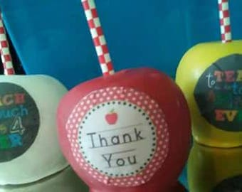 Teacher Appreciation  Apples
