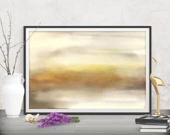 Printables large art download, Beige abstracts wall decor, Bathroom wall art prints, Contemporary art design, Extra large decor