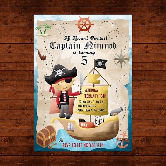 Pirate birthday invitation pirate party invite pirate printable il570xn filmwisefo