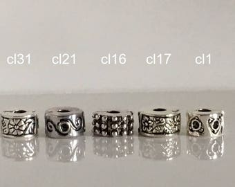1 pc Pandora bracelet charms for beautiful clips Stoppers