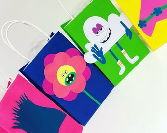 Troll party favor bags