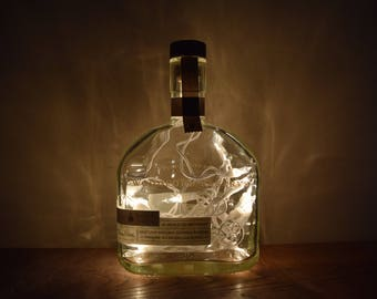 Woodford Reserve Bourbon Whiskey Bottle Lamp