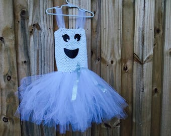 Ghost Halloween Tutu/ Halloween tutu/ Ghost Dress/ Ghost TUTU Dress/ Halloween Costume/ Girls Halloween Costume/ Halloween Party