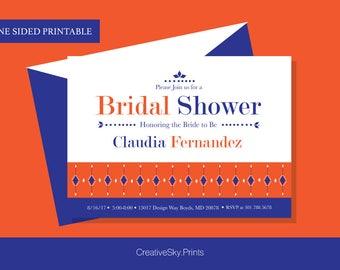 Bridal Shower Invitation Printable