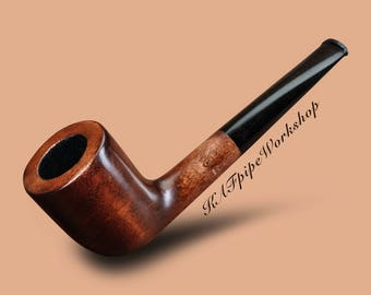 Pipe for smoking/Tobacco smoking pipe KAF 228/Wooden Tobacco pipe/Handmade smoking pipe/Handcrafted pipe/Gift for Groom/Classic pipe/pfeife