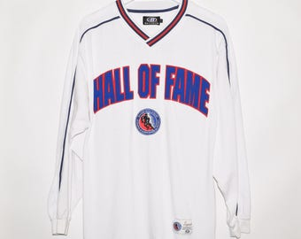 Rare Vintage VTG Bulletin Hockey Hall of Fame Long Sleeve Shirt Large Gretzky