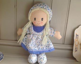 Vintage rag doll 1980s