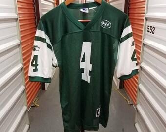 Vintage NFL GlennFoley New York Jets Football Jersey By Starter. Youth Size Large.