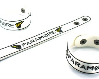 Paramore New! Rubber Bracelet Wristband Still Into You Prm8Na