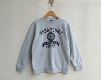 Paramount Washington Printed Spellout Sweatshirt Nice Design // Paramount Washington