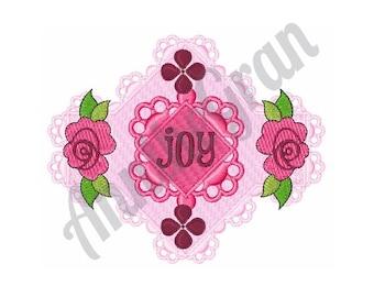 Rose Joy - Machine Embroidery Design