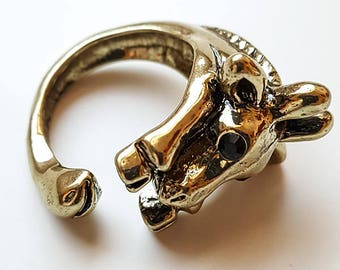 Giraffe Wrap Ring Adjustable - Witty Novelty