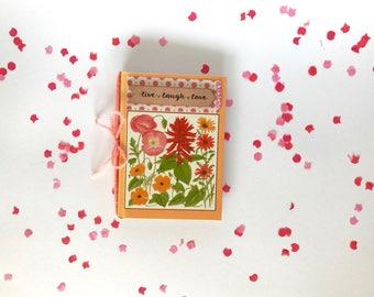 Handmade snailmail flipbook / weheartconfetti
