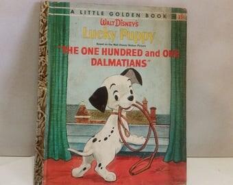 Little Golden Book - Walt Disney's Lucky Puppy