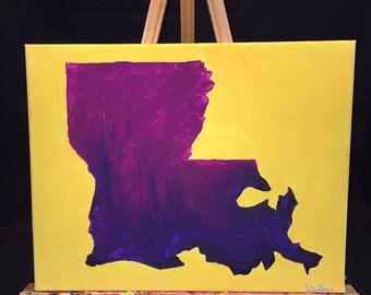 SALE!! LSU Purple and Gold