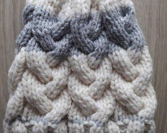 Woolen hat, hat, warm hat, beanie winter Hat handmade, hat, made in France, wool hat