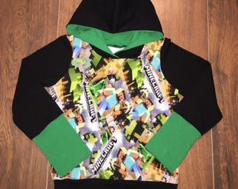 Scalable Hoodie mine craft