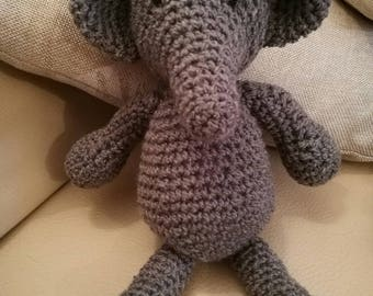wool crochet plush toy