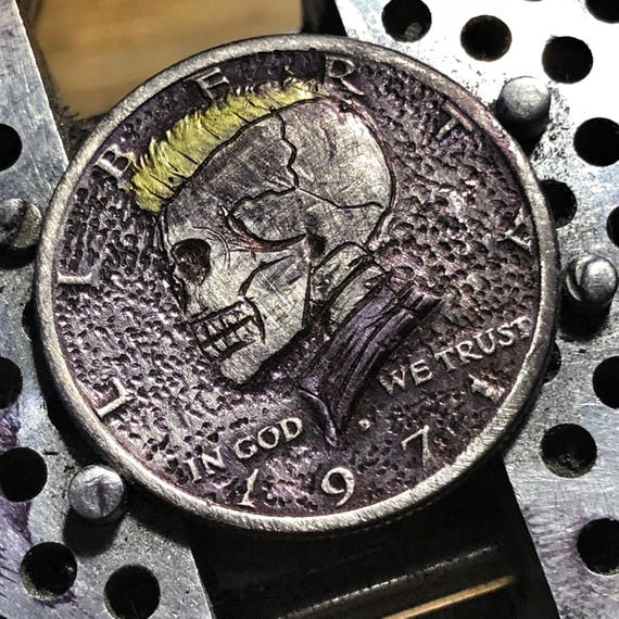 Hobo Nickel Punk JFK by olmo