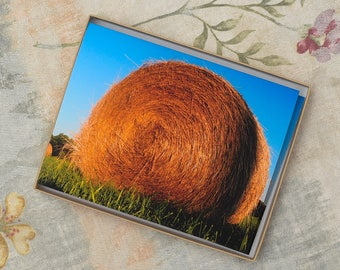 Notecards-Hay Rolls