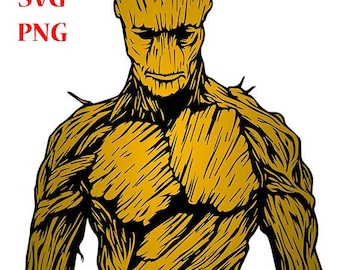 Groot, groot svg, groot png, Picture for T-shirts, groot sticker, Guardians galaxy, groot pictures, Digital downloads, groot vector
