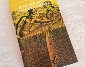 Vintage Book Gulliver's Travels by Jonathan Swift 1981 Vintage Home Decor Vintage Book