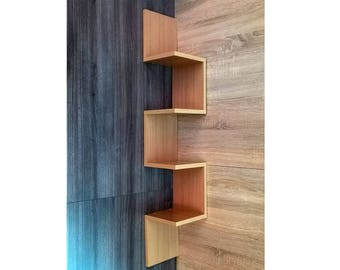 Free ship! Corner shelf. Shelves shelf Wall shelves Corner bookshelf Storage shelves Wooden shelves Corner shelf Corner wall shelf