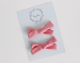 Pigtail set | summer pink
