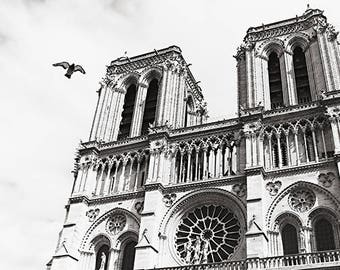 Notre Dame Wall Art notre dame wall art   etsy