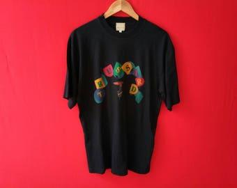 vintage trussardi italy medium mens t shirt