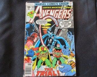 The Avengers #160 (Grimm Reaper Appearance) Marvel Comics 1977