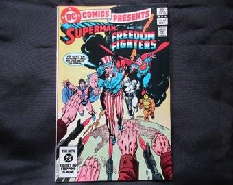 D.C. Comics Presents #62 D.C. Comics 1983