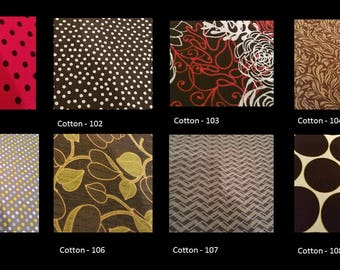 Chose your fabric