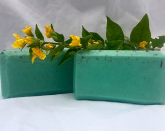Evergreen Handcrafted Vegan Soap